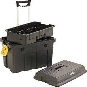 Caixa Plástica para Ferramentas Com Rodas CRV0200 - Vonder