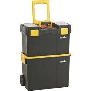 Caixa Plástica Organizadora Porta Ferramentas com Roda CRV0300 - Vonder