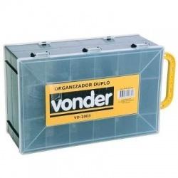 Organizador Plástico Duplo VD2003 - Vonder