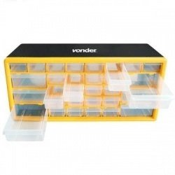 Organizador Plástico OPV 0300 30 Gavetas - Vonder