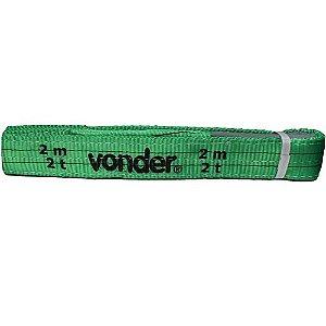 Cinta para elevação de cargas 2 metros 2 toneladas - Vonder