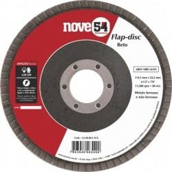 Flap Disc Reto 4.1/2 Grão 40 - Nove54