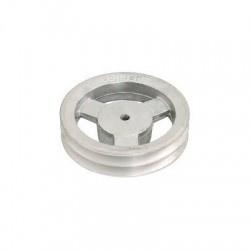 Polia De Aluminio 1 Canal A 110mm