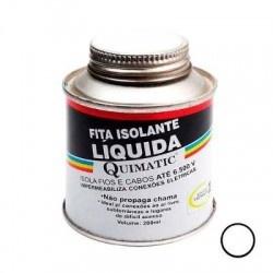 Fita Isolante Líquida Preta 200ml Quimatic Tapmatic