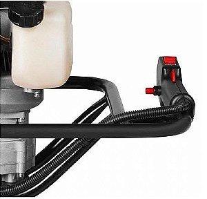 Perfurador de Solo a Gasolina BPS52 Motor de 2cv 2 Tempos sem Broca - Branco