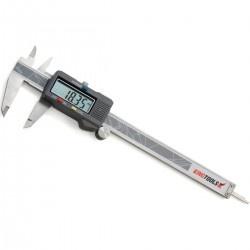 Paquímetro Digitai 150mm/6'' Resolução de 0,01mm/.0005'' 502.150BL - Kingtools
