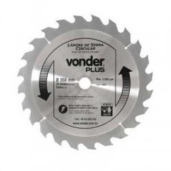 Disco de Serra Circular com 350mm 14'' Metal Duro/Vídea - Vonder