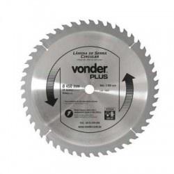Disco de Serra Circular com 48 Dentes 450mm 18'' Metal Duro/Vídea - Vonder