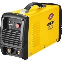 Retificador Inversor de Solda 155a 220 volts Monofásica Para Eletrodo RIV 130 - Vonder