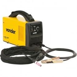 Retificador Inversor de solda 155a 220 volts Monofásica alta Frequência Para Eletrodo e TIG RIV 155M - Vonder