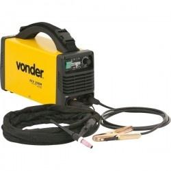 Retificador inversor de solda 200 Amperes 220 volts Eletrodo e TIG RIV 200M - Vonder
