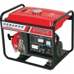 Gerador de Energia A Gasolina 5000W MG-5000CL Saída 110/220V Motomil