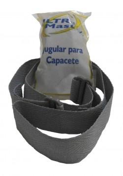 Jugular Velcro Para Capacete Universal - Ultra Master Plug