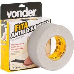 Fita Antiderrapante 50mmx15m Cinza - Vonder
