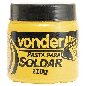 Pasta para solda com 110g Vonder