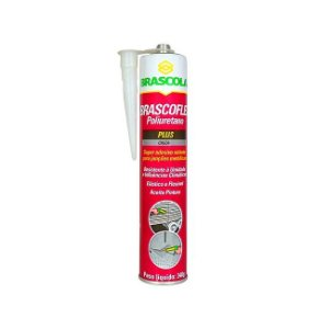 Adesivo de Poliuretano Pu Cinza 340g Brascoflex - Brascola