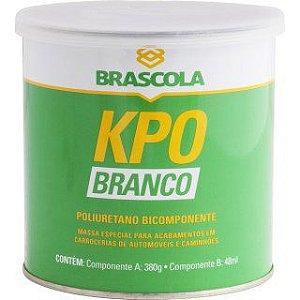 Adesivo de poliuretano Brascoved KPO branco bicomponente Brascola