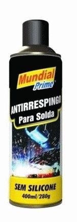 Anti-respingo de Solda Spray sem Silicone 400ml - Mundial Prime