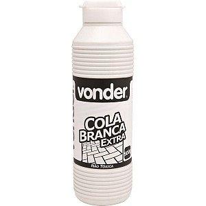 Cola branca extra 500gr Vonder