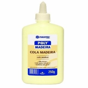 Cola Para Madeira 250gr Pulvitec