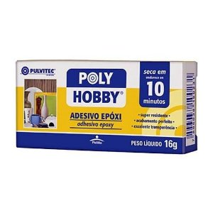 Adesivo Epóxi Polyhobby 10 Min 16gr - Pulvitec