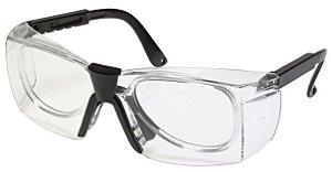 Óculos Policarbonato Para Lente de Grau Incolor CA 15618  - Kalipso