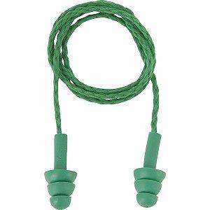 Protetor auditivo tipo plug de copolímero com cordão em poliéster 3M