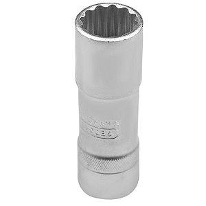 Soquete Estriado Longo com Encaixe de 1/2 Pol 16mm - Gedore
