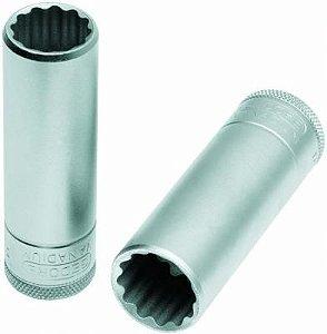 Soquete Estriado Longo com Encaixe de 1/2 Pol 17mm - Gedore