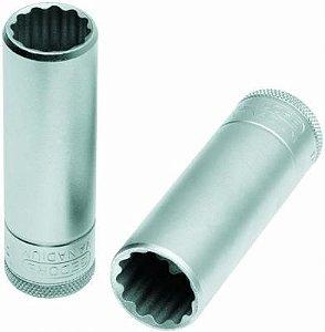 Soquete Estriado Longo com Encaixe de 1/2 Pol 21mm - Gedore