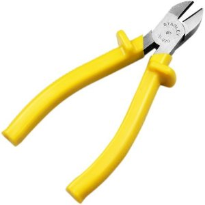 "Alicate Corte Diagonal Cabo Isolado 1000v 6"" (152mm) - Stanley"