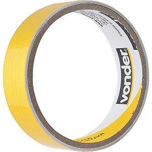Fita adesiva refletiva, 25mm x 1m amarela - Vonder