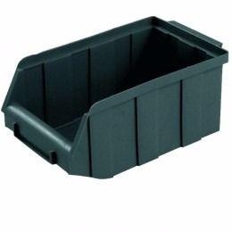 Gaveteiro plástico nº 7 preto Vonder
