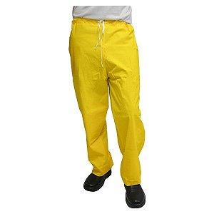 Calça de Chuva amarela forrada PVC CA28191