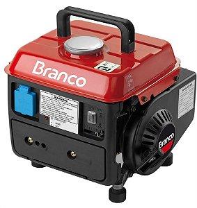 Gerador de Energia a Gasolina de 950 Watts 0,95 KVA com Carregador de Bateria B2T950 - Branco