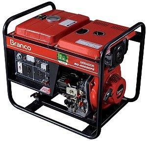 Gerador de Energia a Diesel de 3300 Watts 3,3 KVA BD-4000 - Branco