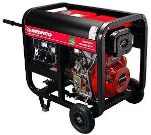 Gerador de Energia a Diesel de 5500 Watts 5,5 KVA BD-6500 - Branco