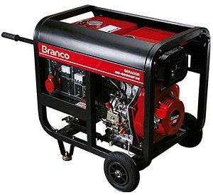 Gerador de Energia a Diesel de 5500 Watts 5,5 KVA Trifásico BD-6500CF3E - Branco