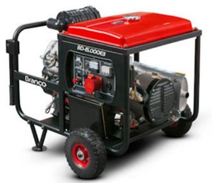 Gerador de Energia a Diesel de 14000 Watts 14 KVA Trifásico 380V BD-15000E3 G2 - Branco