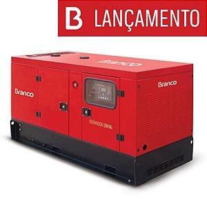 Gerador de Energia a Diesel Automático com QTA 23 KVA Monofásico 220V Silencioso  BD-21000 ES - Branco