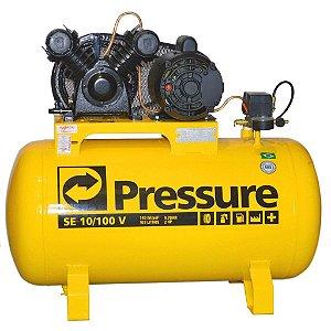 Compressor De Ar 10 Pés 100 Litros 127/220v Mono Pressure