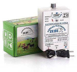 Eletrificador de Cerca Elétrica Rural Zebu PPCR 30km - Zebu