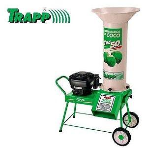 Triturador de Coco TRC-50 com Motor 6HP à Gasolina - TRAPP