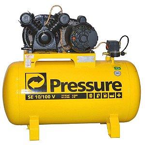 Compressor De Ar 100 Litros 10 Pés Se10/100v - Pressure