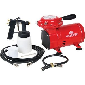 Compressor de Ar Direto 250W Bivolt - Worker