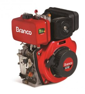 Motor À Diesel 5,0cv Partida Elétrica Motor Bd-5.0 G2 Branco