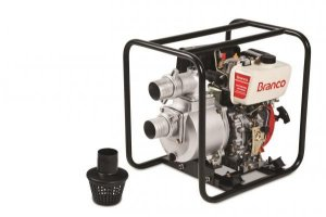 Motobomba A Diesel Bd-705 Cf 7,0cv Partida Manual Branco
