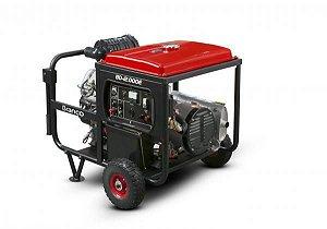 Gerador A Diesel Bd-12000e G2 18cv Part Elétrica 220v Branco