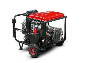 Gerador A Diesel Bd15000e3 G2 22cv Part Elétrica 380v Branco