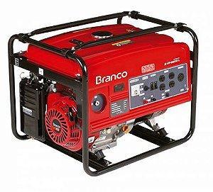 Gerador de Energia a Gasolina 5,5 KVA B4T6500e - Branco
